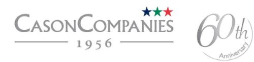 Cason Companies 60 anniversary